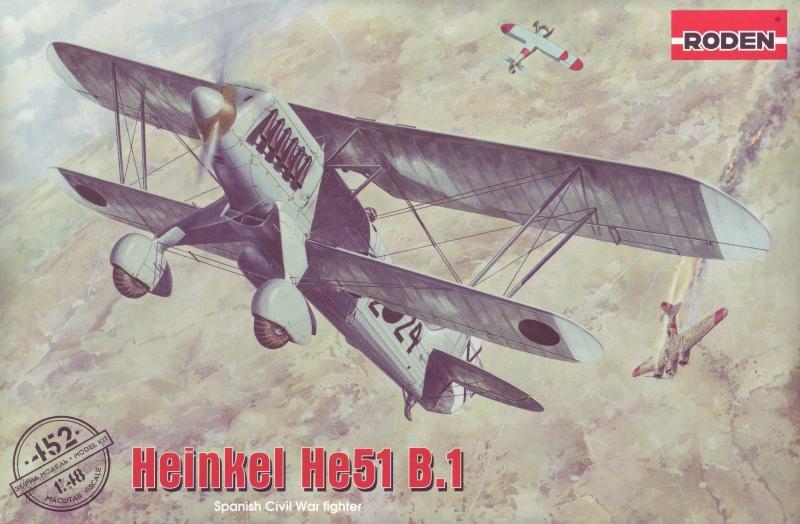 Биплан Heinkel He.51 B.1 Roden 452