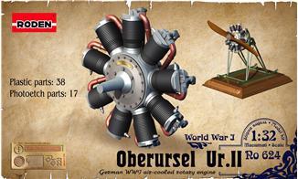 Двигатель Oberursel Ur.II Roden 624