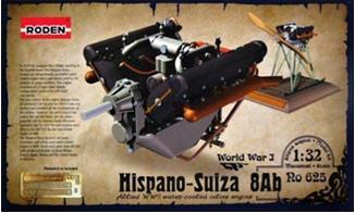 Двигатель Hispano Suiza 8Ab Roden 625