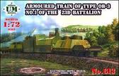 Бронепоезд типа ОБ-3 № 1 23-го батальона