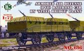Бронеплощадка противовоздушной обороны завода Стальмост