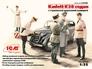 Kadett K38 седан, с германской дорожной полицией ICM 35480 основная фотография