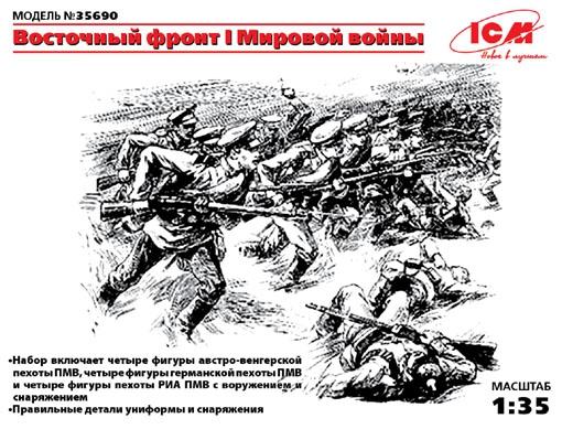 Восточный фронт I первой мировой войны ICM 35690