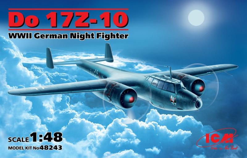Ночной истребитель Дорнье Do 17Z-10 ICM 48243