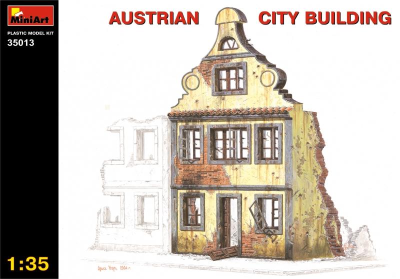 Австрийское городское здание MiniArt 35013