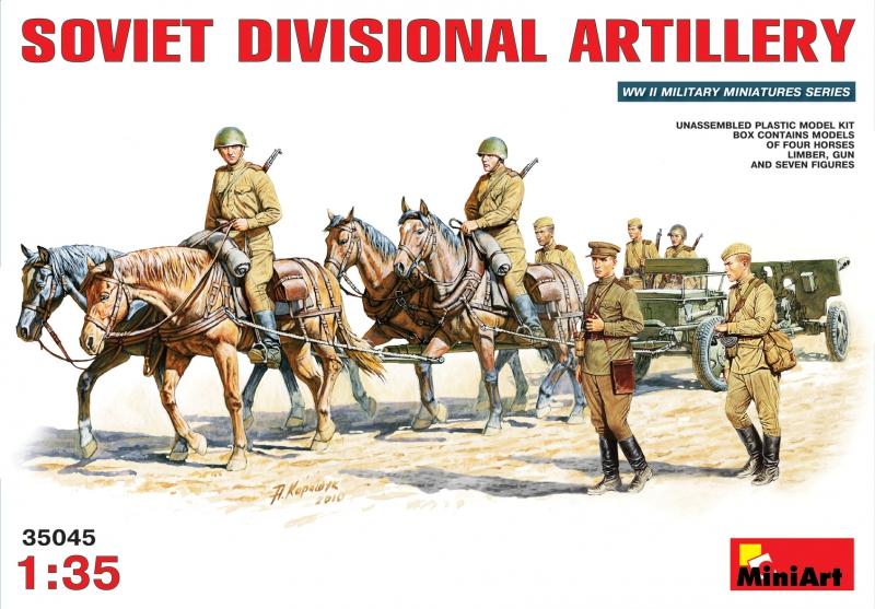 Советская дивизионная артиллерия MiniArt 35045