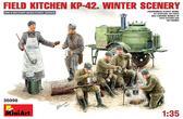 Полевая кухня KП-42. Зима