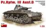 Средний танк Pz.III Ausf D MiniArt 35169 основная фотография