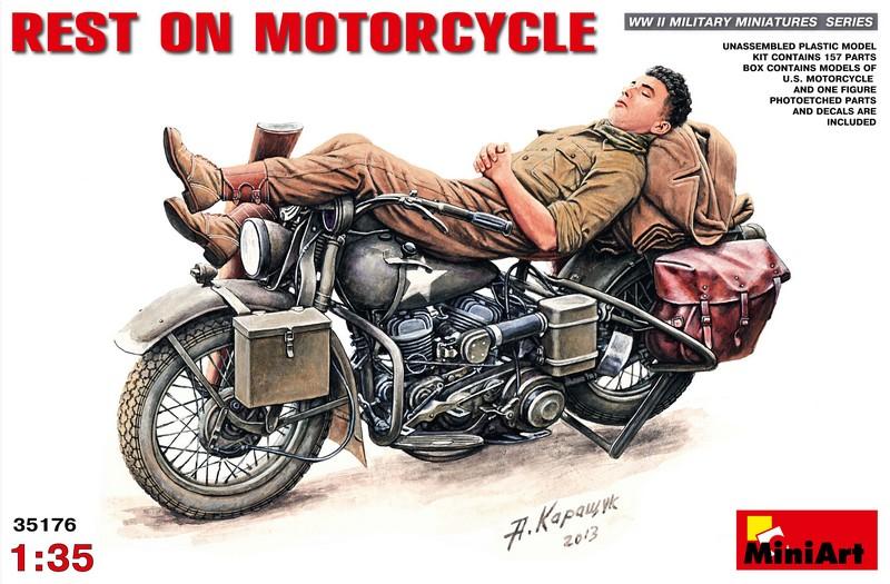 Отдых на мотоцикле MiniArt 35176