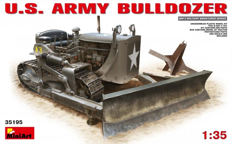 Американский армейский бульдозер MiniArt 35195