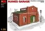 Разрушенный гараж MiniArt 35511 основная фотография