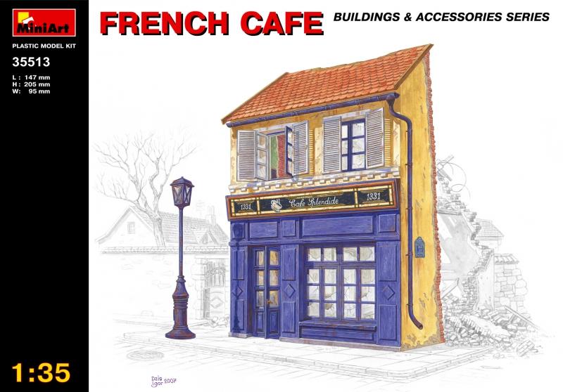 Французское кафе MiniArt 35513