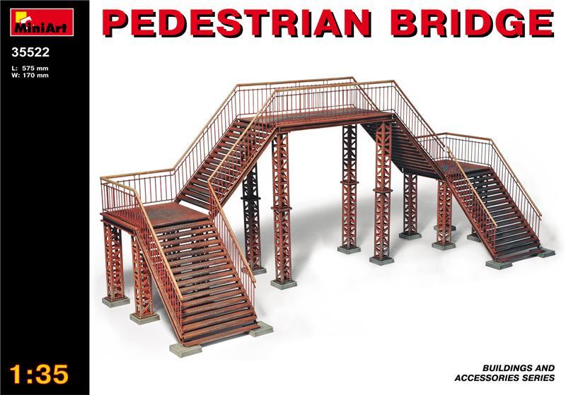 Пешеходный мост MiniArt 35522