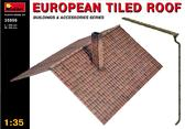 Европейская черепичная крыша