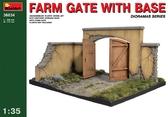 Ворота фермы с основанием