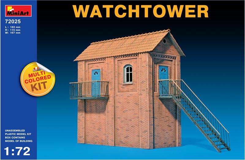 Сторожевая башня MiniArt 72025