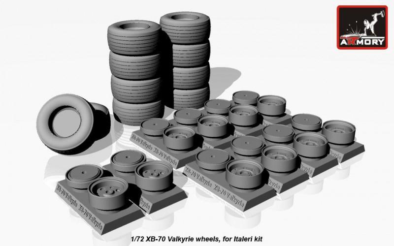 Колеса для XB-70