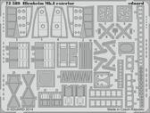 Фототравление 1/72 Blenheim Mk.I экстерьер (Airfix)