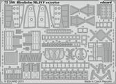 Фототравление 1/72 Blenheim Mk.IVF, экстерьер (Airfix)