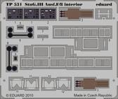 Фототравление 1/35 StuG III Ausf.F/8 интерьер (рекомендовано для Dragon 6644)