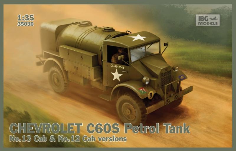 Бензовоз Chevrolet C60S IBG Models 35036