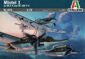 Самолеты Mistel 1: Истребитель Ме-109 F-4 и бомбардировщик Ju 88 A-4