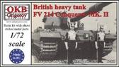 Британский тяжелый танк FV 214 Conqueror MK. II