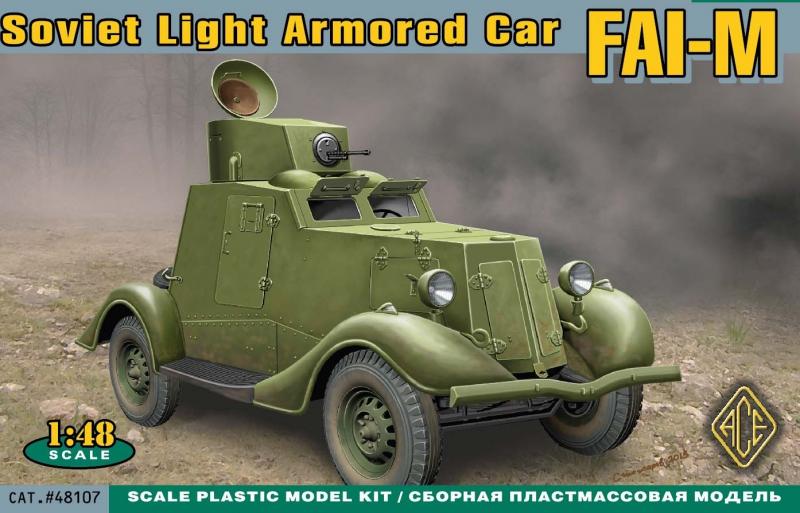Бронеавтомобиль ФАИ-М Ace 48107