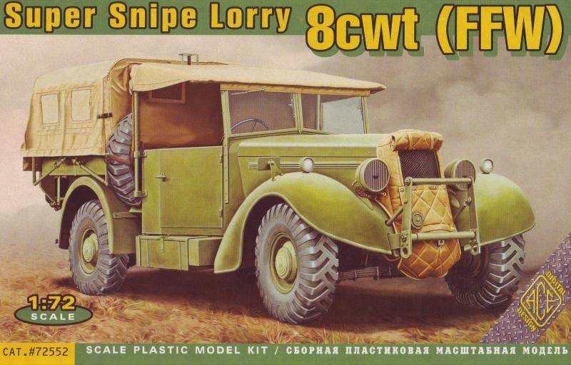 8-тонный грузовик Snipe Lorry Ace 72552