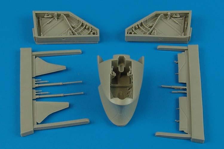 Ниша шасси MiG-17F fresco C Aires Hobby Models 4501