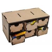 Модуль с 6 ящиками