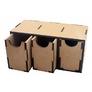 Модуль с 3 большими вертикальными ящиками Crazy Hands 008 основная фотография