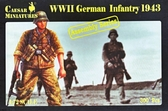 Немецкая пехота 1943 года