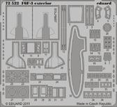 Фототравление 1/72 F6F-3, экстерьер