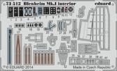 Фототравление 1/72 Blenheim Mk.I интерьер (Airfix)