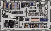 Фототравление 1/72 Канберра B(I)8 (цветная, рекомендовано для Airfix) Eduard 353
