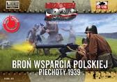 Польская пехота, минометные и пулеметные расчеты