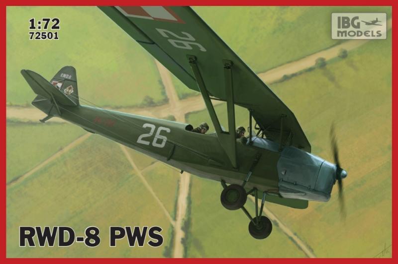 Учебно-тренировочный самолет RWD-8 PWS IBG Models 72501