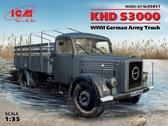 Германский армейский грузовой автомобиль KHD S3000