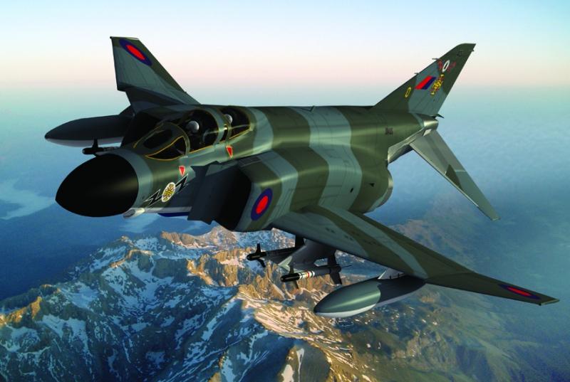Истребитель-бомбардировщик F-4K Phantom FG.1 IOM 262