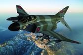 Истребитель-бомбардировщик F-4K Phantom FG.1