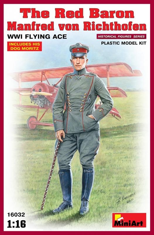 Красный Барон. Манфред фон Рихтгофен. Летчик-ас Первой Мировой Войны MiniArt 16032