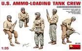 Загрузка боеприпасов танковым экипажем США