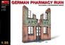 Руины немецкой аптеки MiniArt 35537 основная фотография