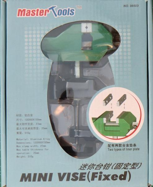 Мини тиски со струбциной Master Tools 08503