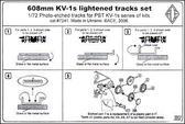 Фототравление: Траки для танка КВ-1с