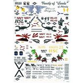 Декаль для вертолетов Hawks от Sikorsky от Print Scale