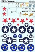 Декаль для бомбардировщика PBY Catalina