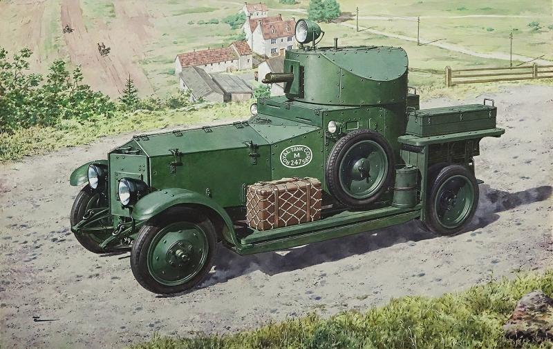 Британский бронеавтомобиль Pattern 1920 Mk.I Roden 731