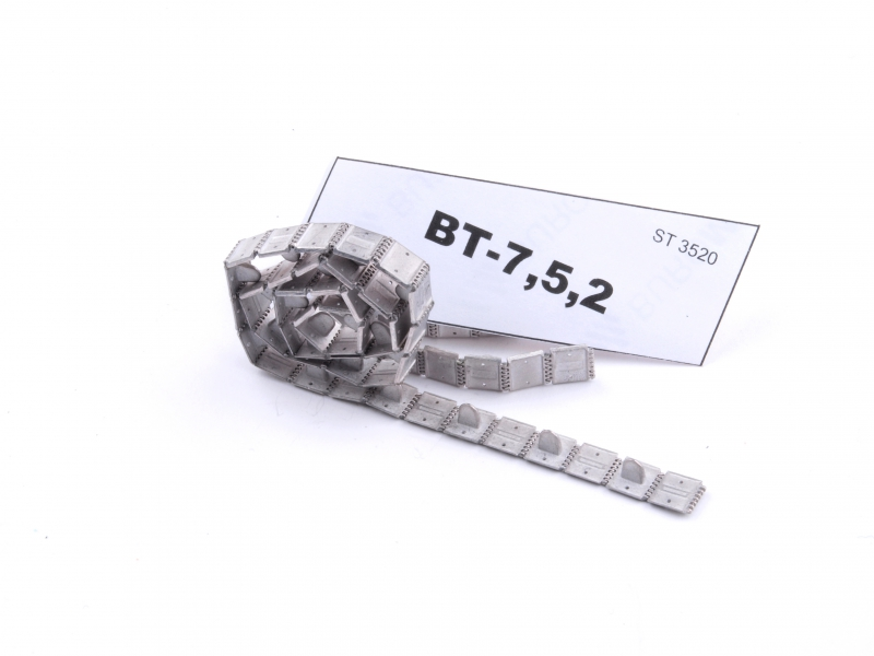 Сборные металические траки для танков BT-7,5,2 (собранные в ленту) Sector35 3520